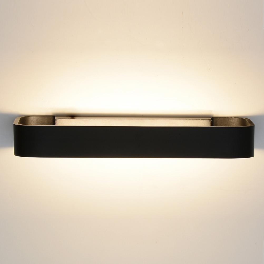 Modern wall sconce Nordic aluminum LED lights home lighting , Black