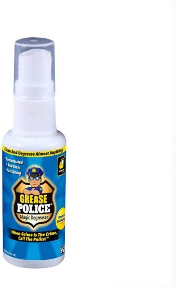 Magic Grease Police Magic Degreaser, Spray de Grasa Agente de Limpieza de acción rápida, Spray desengrasante de Cocina Multifuncional Elimina la Suciedad de la Grasa horneada los Alimentos (1PCS): Amazon.es: Hogar