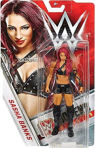 WWE Basic Series #69 version - Sasha Banks Figure by Mattel