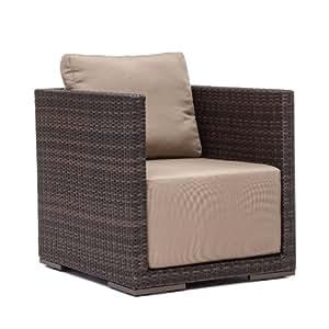 Zuo al Aire Libre Parque Isla sillón, marrón