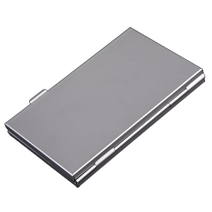 Trendyest - Caja de Almacenamiento de Aluminio para Tarjetas de Memoria (6 Unidades, SD/SDHC/MMC): Amazon.es: Electrónica