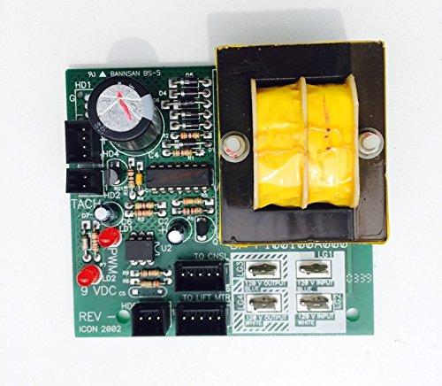 Power Supply Board 187242 Works With Proform Weslo Healthrider LifeStyler Image Treadmill ()