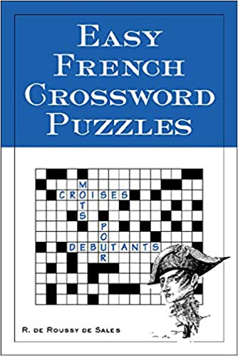 Easy French Crossword Puzzles Language French English And French Edition Sales R 9780844213309 Amazon Com Books