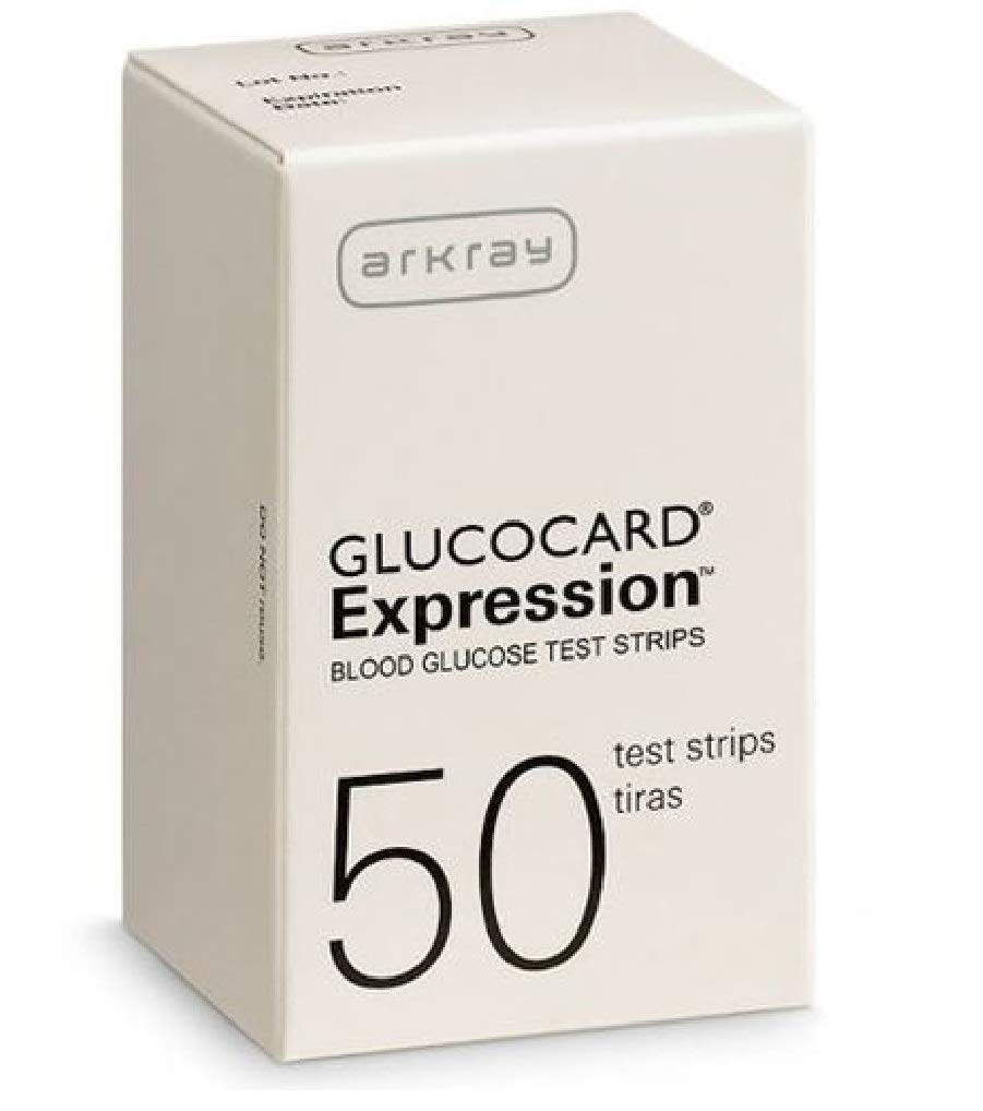 Arkray USA 570050 Glucocard Expression Test Strip (Pack of50)