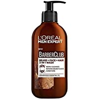 L'Oréal Paris Men Expert Barber Club 3-in-1 Beard, Face and Hair Cleansing Wash For Men, Enriched with Essential Oils…