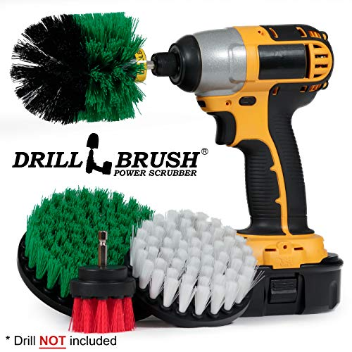 Cleaning Supplies – Drill Brush – Kitchen – Oven – Stove – Cast Iron Skillet – Dish Brush – Bathroom Accessories – Scrub Brush – Shower Cleaner -Grout Cleaner – Spin Brush – Bird Bath – Garden Statues