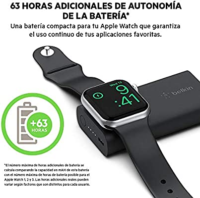 Belkin Boost Charge 2K batería Externa para Apple Watch ...