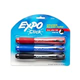 EXPO 1741919 Click Low-Odor Dry Erase Retractable