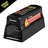 Electronic Mouse Trap / Automatic Rodent Zapper Perfect for Rats, Mice, Squirrels and Rodents Using Humane Exterminating - Best Pest Control / Repellent Eliminator | Upgraded Version - by Pestrax
