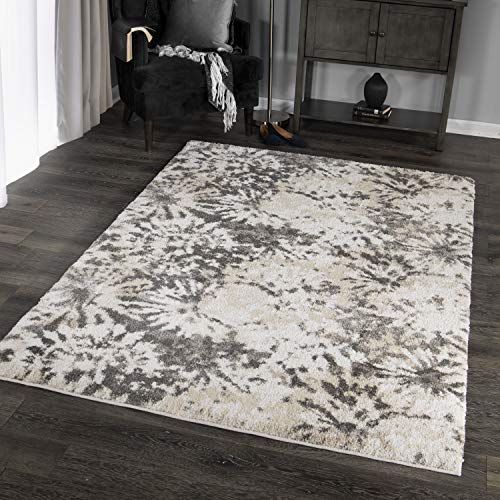 Orian Rugs Super Shag Collection 392739 Hyde Park Area Rug, 5'3
