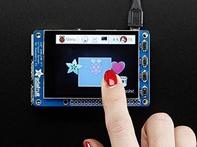 "Adafruit (PID 2423) PiTFT Plus 320x240 2.8"" TFT + Capacitive Touchscreen from Adafruit"