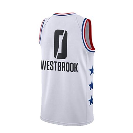 JCMCWY* No. 0 Russell Westbrook Shorts de Baloncesto ...