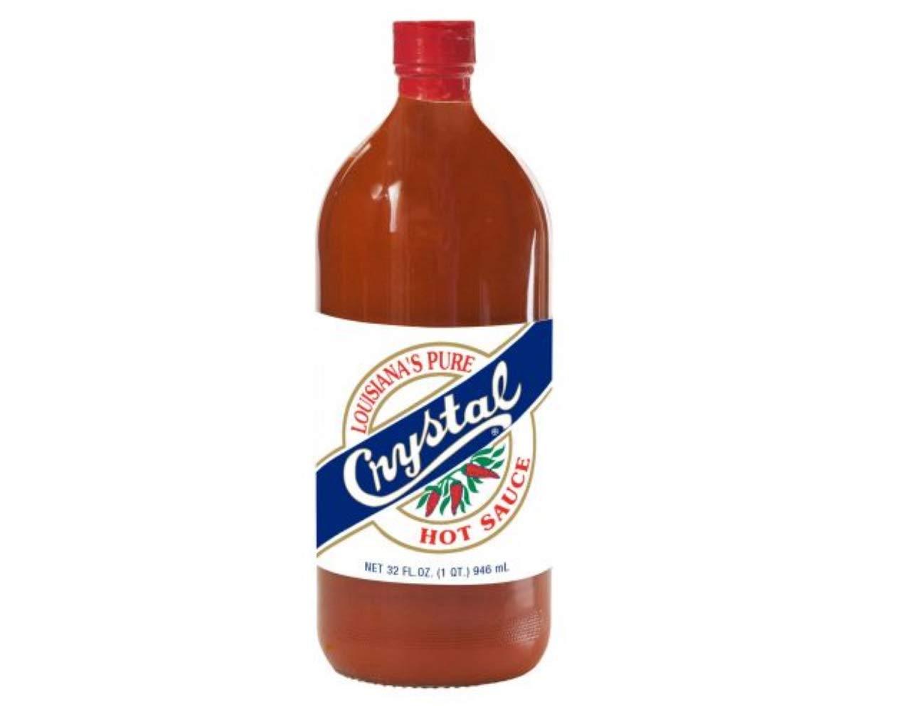 Crystal Hot Sauce Louisiana's 32oz