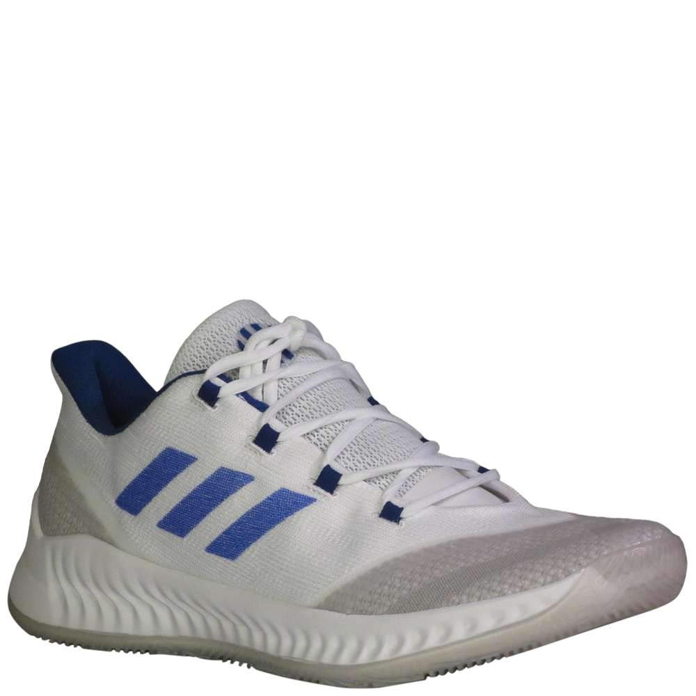 adidas B/E 2 Shoe - Men's Basketball (10, White/Royal) by adidas