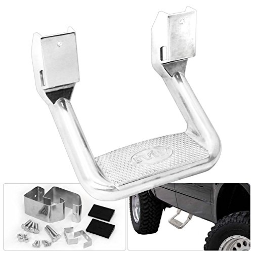 Bully AS-600S Step Bar Solid Cast Aluminum Silver Truck SUV Pick Up Nerf Side (Cast Aluminum Step)