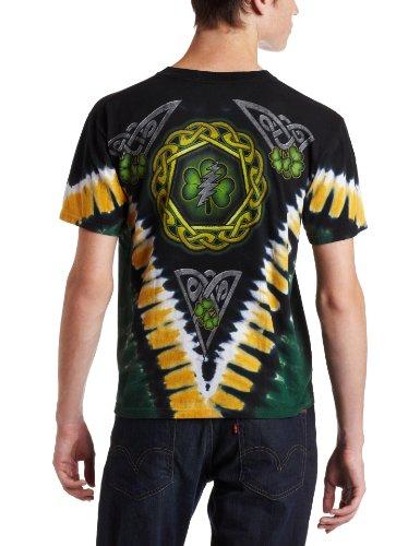 320375e0831 Jual Liquid Blue Men s Grateful Dead Shamrock Tie Dye T-Shirt - T ...