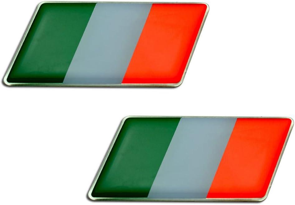 CAGIVA  ITALIA paire twin Flags Sticker