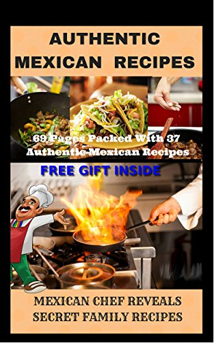 AUTHENTIC MEXICAN RECIPES by BOBBY F. BROOKS