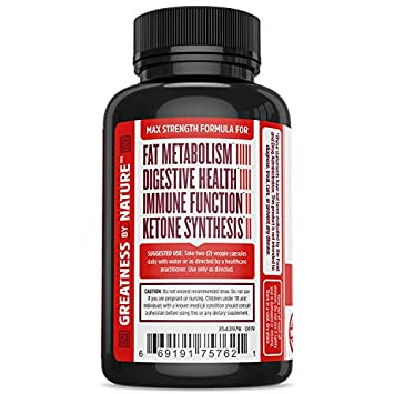 Zhou Nutrition Berberine with Oregon Grape for Fat Metabolism and Ketone Synthesis, 60 Count