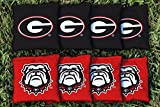 georgia bulldogs cornhole bags - Georgia Bulldogs Replacement Cornhole Bag Set (corn-filled)