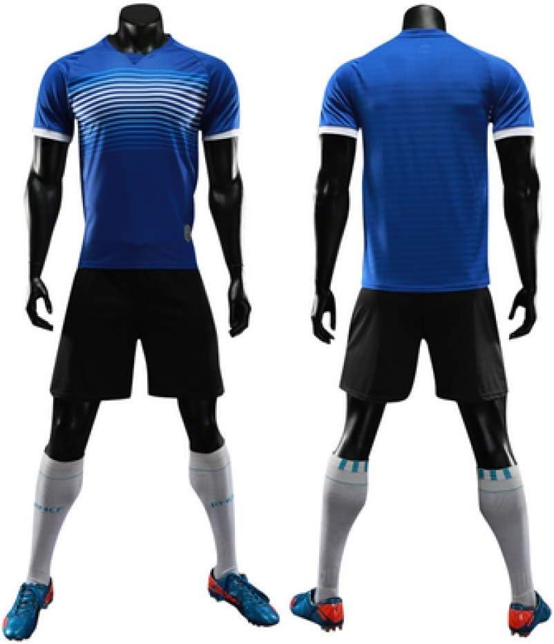 XIAOL Camisetas De Fútbol Niños Hombres 2018 2019 Camisetas De Fútbol En Blanco Set Niños Deportes Uniformes De Entrenamiento De Fútbol Traje Equipo Running Set,A-XS: Amazon.es: Hogar