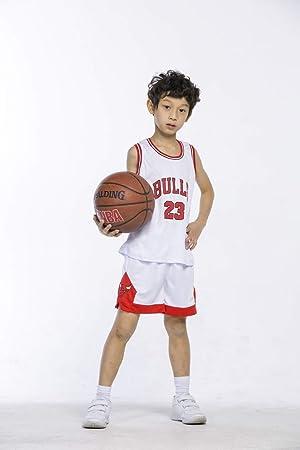 la meilleure attitude a3e83 422ee MTBD Basket Malliot Ensemble pour Enfants - NBA # 23 Bulls ...