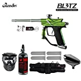 MAddog Azodin Blitz 3 Starter HPA Paintball Gun Package Green Deal (Small Image)