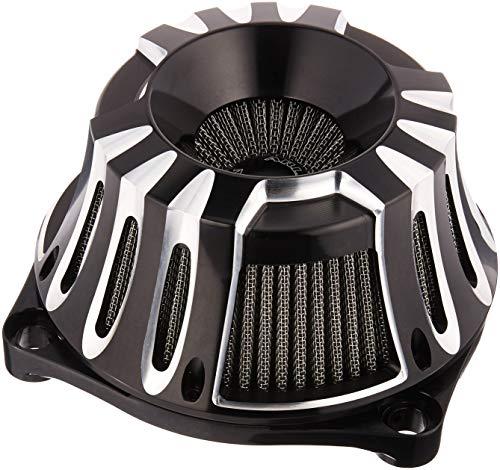 (Arlen Ness 18-927 Black Inverted Series Air Cleaner Kit)