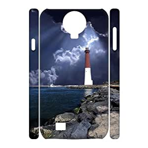 case Of Lighthouse 3D Bumper Plastic Cell phone Case For Samsung Galaxy S4 i9500 by supermalls