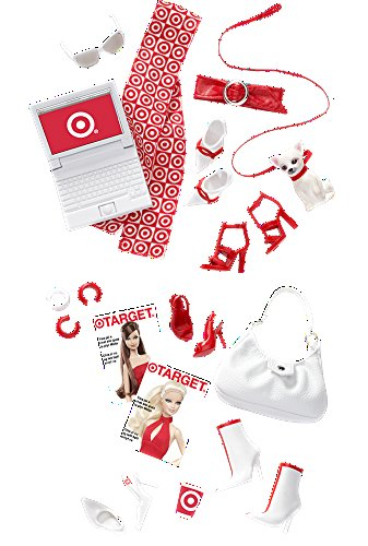 Barbie Collector Black Label Target RED Accessory Collection Barbie Black Label Collection