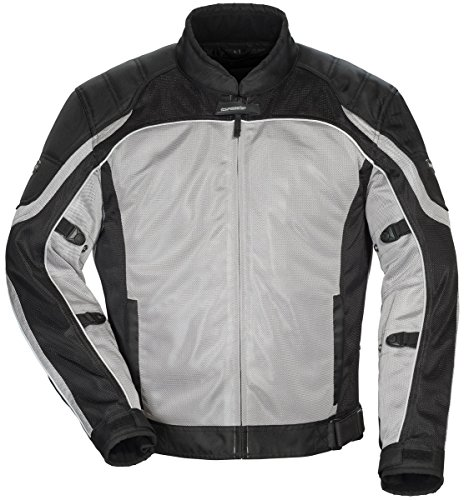 -05 Men's Intake Air 4.0 Jacket (Silver/Black, Medium) ()