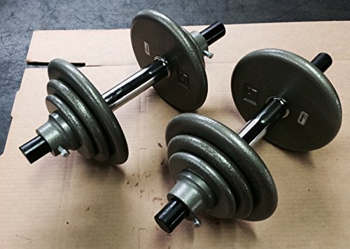 york dumbell plates - 2