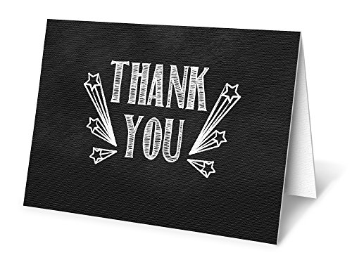 elegant-thank-you-cards-chalkboard-thanks-boxed-set-of-12-cards-envelopes-included