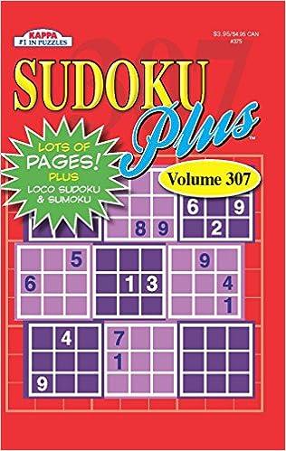 Book Sudoku Plus Puzzle Book-Vol.307