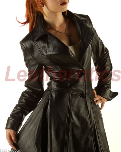 De abrigo de cuero de mujer superior Burlesque traje de mapa a SFGM diseño de el cuervo calavera abrigo chaqueta de Negro negro M/L: Amazon.es: Ropa y ...