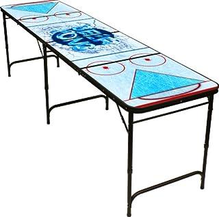 Hockey Beer Pong Table 8ft Premium Hd Design Black