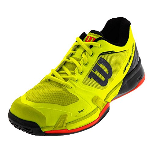 Wilson Mens Rush Pro 2.5 Yellow / Blk
