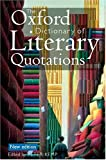 img - for The Oxford Dictionary of Literary Quotations book / textbook / text book