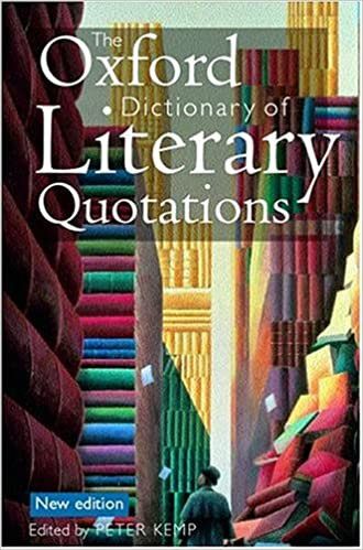 The Concise Oxford Dictionary Of Quotations Pdf
