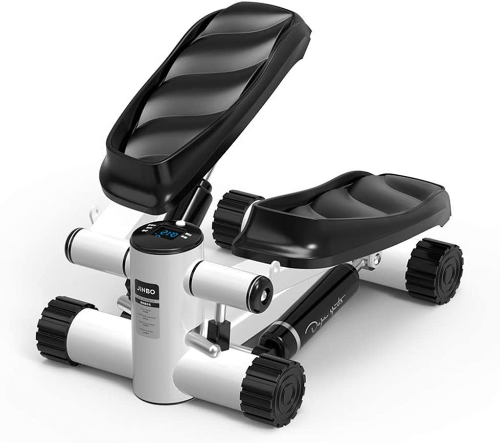 NNBB R/églable Air Stepper Twist Stepper avec r/ésistance hydraulique Faible Impact Stepping Micro a/érobie et daffichage