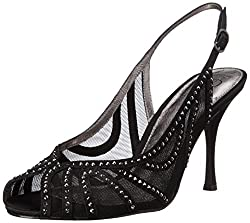 Adrianna Papell Women's Fiji Dress Sandal, Black, 11 M US