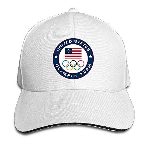 HAOXIN 2016 Rio Summer Olympics USA Olympic Team Snapback Caps Peaked Baseball Hat (Olympic Beret)