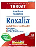 Best Sore Throat Medicines - Boiron Roxalia for Sore Throat Relief, 60 Count Review