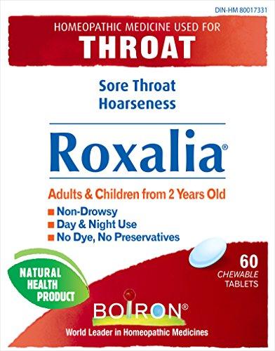 Sore Throat 60 Tab (Roxalia for Sore Throat Relief - 60 Tabs)