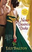 Never Desire a Duke