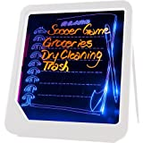 Trademark Home LED Writing Menu Message Board, White
