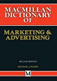 img - for MacMillan Dictionary of Marketing and Advertising book / textbook / text book