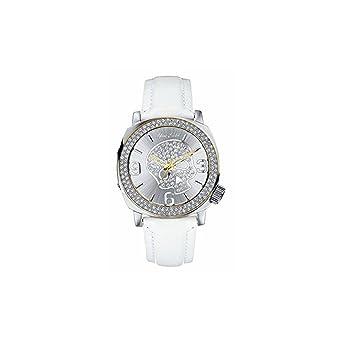 03095f4600ae Marc Ecko Reloj Análogo clásico para Hombre de Cuarzo con Correa en Cuero  E13524G2  Amazon.es  Relojes
