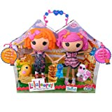 Lalaloopsy Doll Figure Twins 2 Pack - Sunny Side Up and Berry Jars n Jam