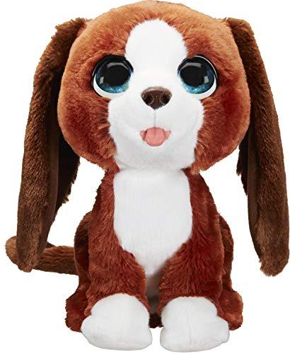 FurReal Howlin 'Howie Interactive Plush Pet Toy, 25+ combinaciones de sonido y movimiento, edades 4 y más